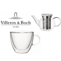 Villeroy and Boch are a large, German manufacturer of ceramics originally started in 1748.<br /><br />Selected Items of Glassware by Villeroy and Boch.