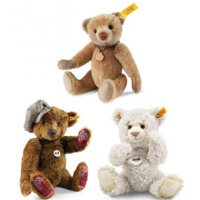 <strong><span>Steiff Bears UK</span></strong><br /><span>Carrying the famous Button in Ear with Yellow Tag and Red writing. These bears are unmistakably original from the famous company with the long standing tradition. Unlimited in production but still of high quality and reasonably priced. Official Steiff Stockist.<br /><br /><strong>*Caution! These products are not toys and are intended for adult collectors only.*</strong></span>