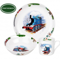 It's Full Steam Ahead with the Thomas & FriendsTM children's tableware and giftware collection. Thomas & FriendsTM has been loved by children and grown-ups alike since the books were first published in 1945. This exciting collection includes items ideal for breakfast and snacks, along with some statement gift items, such as a money box & trinket box. Thomas also appears on the delightful packaging, making it a perfect gift for children.
