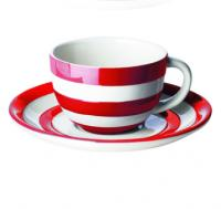 "<span><span style=""color: #ff0000;"">Our classic Cornishware is also available in red, perfect for Christmas or any time of the year. Our red and white stripes make for perfect presents and some come in branded gift boxes.</span><br /><br /><strong>   Please be aware that the colour of this range has slight inconsistencies. The red might vary slightly and the background off/white may vary slightly. This has been normal for this range for some years.</strong><br /><strong><span style=""font-size: small;"">   </span>Please contact us if you are looking for a particular shade of colour (from previous experience). We may be able to help.</strong></span>"