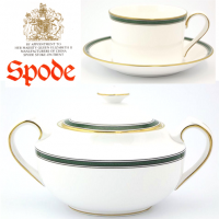 Spode Tuscana (Y8578) was produced from 1992 to 2004.<br /><br />Remaining items of original stock from (Spode) supplier.
