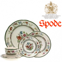 <strong>Now Discontinued. These items are available from the stock we have left.</strong><br />Art Deco Copeland Spode Pottery - Chinese Rose pattern was one of the most popular of Spode's colourful patterns on earthenware in the 20th century. Millions of pieces must have been made and there were several variations to the pattern each given its own unique pattern number in the Spode pattern books now in the Stoke-on-Trent City Archives. This range is no longer made.