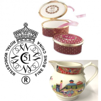Believed to be the oldest or second oldest English porcelain brand still in use today. <br /><br />Producing classically English porcelain collections, Royal Worcester remains a luxury giftware and tableware manufacturer.