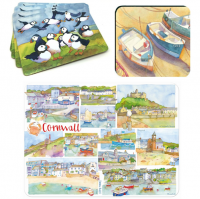 Shop for Emma Ball Placemats & Coasters at Morrab Studio.